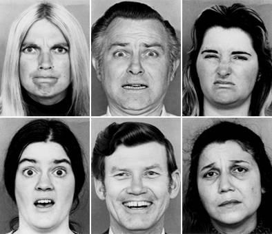 espressione facciale